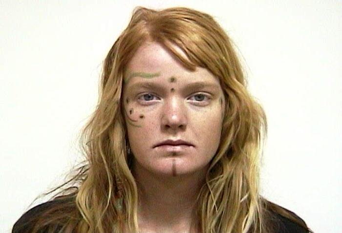 Arrested for possession of LSD.