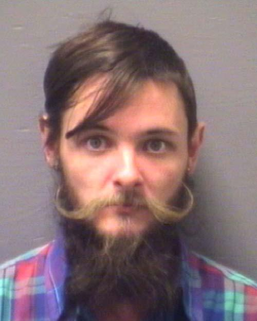 Arrested for drug possession.