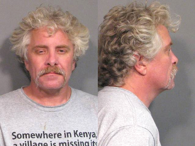 Arrested for pot possession, paraphernalia possession.