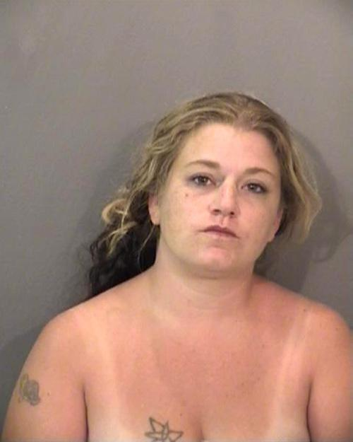Arrested for corporal injury of a spouse.