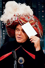 Carnac The Magnificent * Johnny Carson's Tonight Show bit ...  |Amazing Carnac Johnny Carson Bit